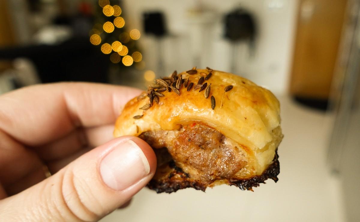 Sausage rolls 3